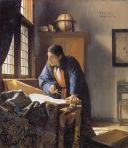 [Painting by Vermeer - The Geographer]r
