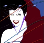 [Nagel's artwork for Duran Duran's Rio]
