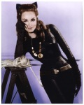 [Picture of Julie Newmar in catwoman costume]