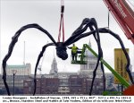 Maman spider sculpture Tate Gallery Bankside 1999