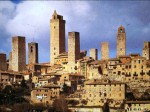 [Picture of the New York style towers of ancient San Gimignano,  Tuscany]