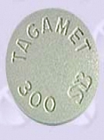 [Picture of Tagamet pill]