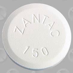 [Picture of Zantac pill]