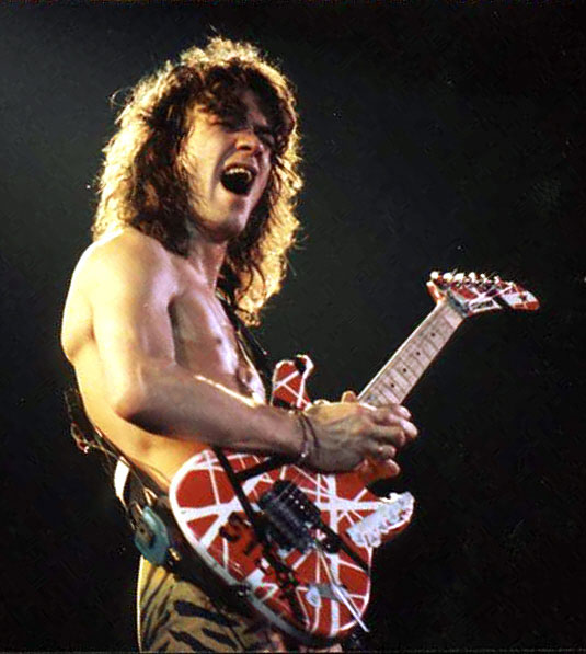 Eddie Van Halen Guitar Techniques And Early Sound