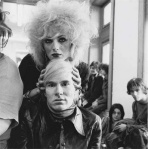 [Photo: Candy Darling and Andy Warhol by Beaton]