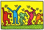 [Picture of Keith Haring's dancing people]