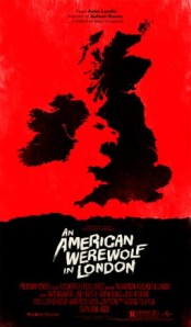 [Movie Poster by Olly Moss of American Werewolf in London]